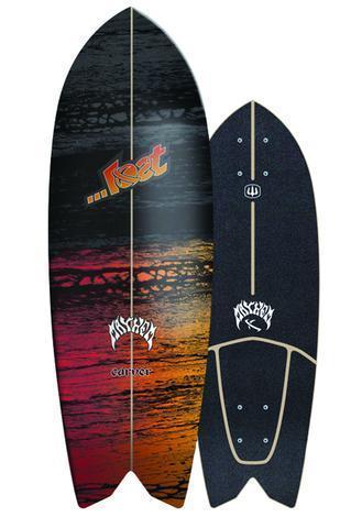 """Lost x Carver Psycho Killer 29"""" Surfskate Deck only"""