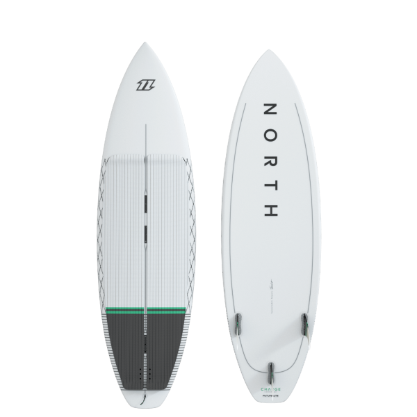 North Charge Surfboard - White bei brettsport.de