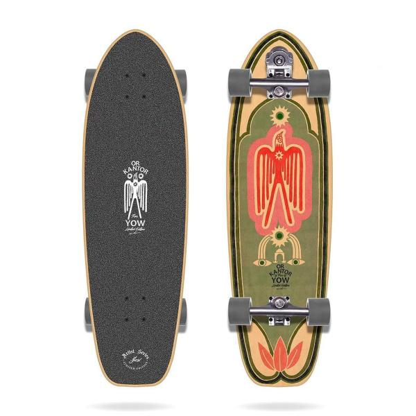 "Yow OR KANTOR 34"" Surfskate Complete"