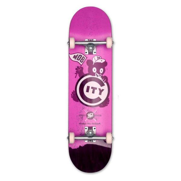 MOB Skateboards Ballpark Komplettboard - 8,25 purple