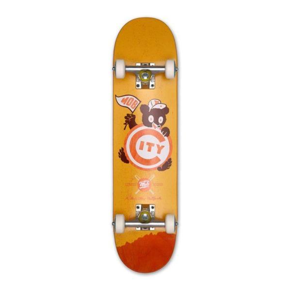 MOB Skateboards Ballpark Komplettboard - 7,25 Yellow