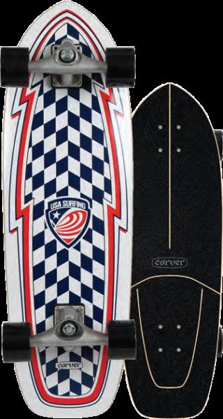 "Carver USA Booster 30.75"" Surfskate Complete 2020"