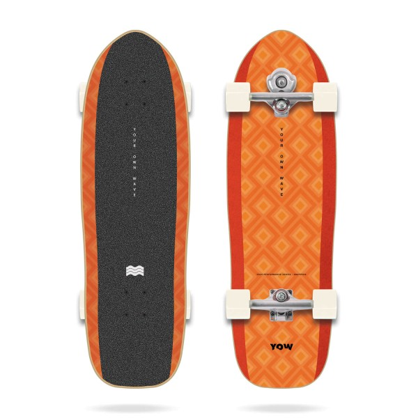 """Yow SNAPPERS 32.5"""" High Performance Series - Surfskate Complete"""