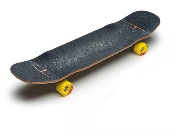 Longboard mit Kicktail