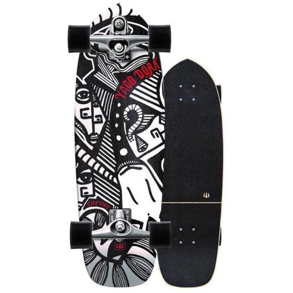 Carver Skateboards Yago Skinny Goat Komplett Surfskate