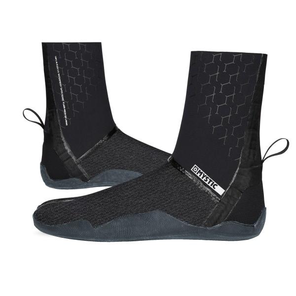 Mystic Majestic Boot 3mm Split Toe - Black bei brettsport.de