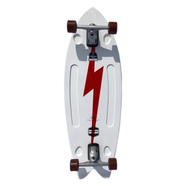 """Hamboards Pescadito 43"""" Surf Skate Complete Boltz"""