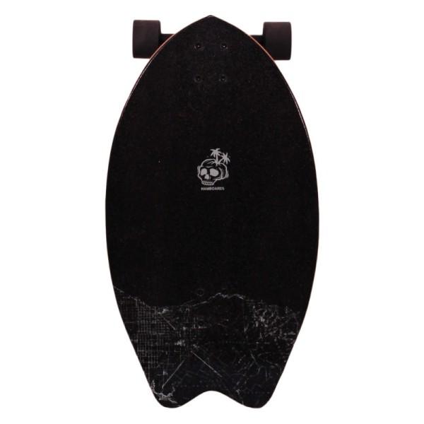 "Hamboards Twisted Fin 26"" Surf Skate Complete Tan OC-Hula bei Brettsport.de"