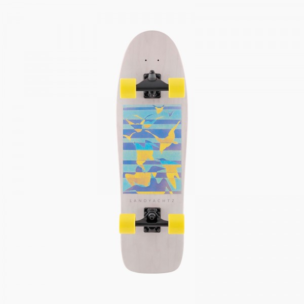 "LANDYACHTZ SURF LIFE BIRDS 32"" - SURFSKATE COMPLETE"