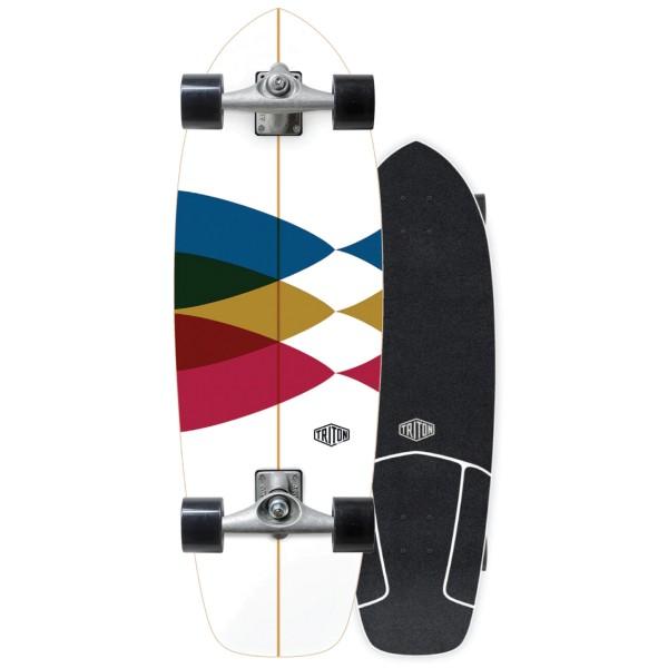 "Triton x Carver 30"" Spectral Surfskate Complete bei Brettsport.de"