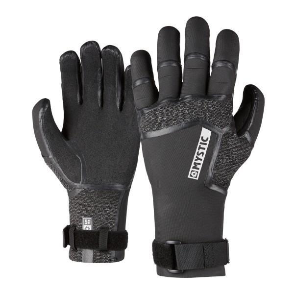 Mystic Supreme Glove 5mm 5Finger Precurved - Black bei brettsport.de